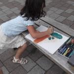 Liane's art camp 2012 Genesis art workshops for Kids