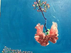 Swinging Sakura by Liane Wakabayashi