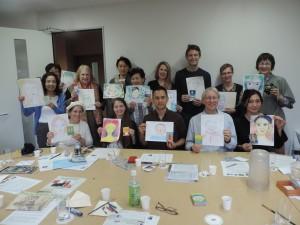 Smiling Self-Portrait Workshop