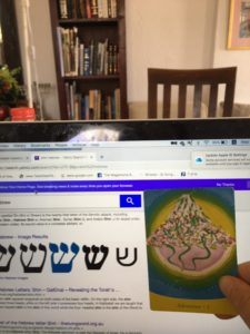 How 3 Roads Became the Hebrew Letter Shin – Genesis Art