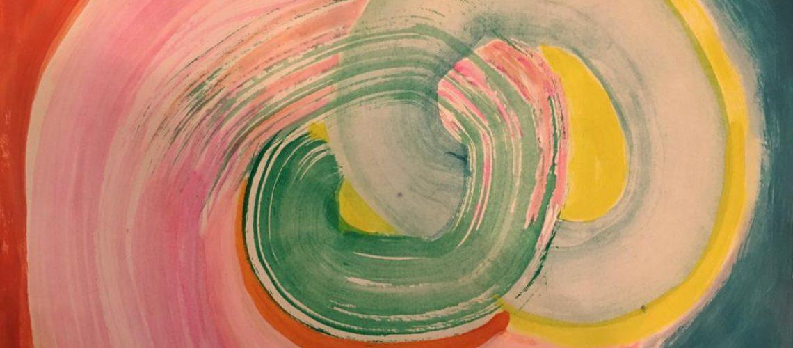 Painting by Liane Wakabayashi